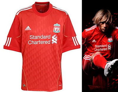 Liverpool Home Shirt 2010/12