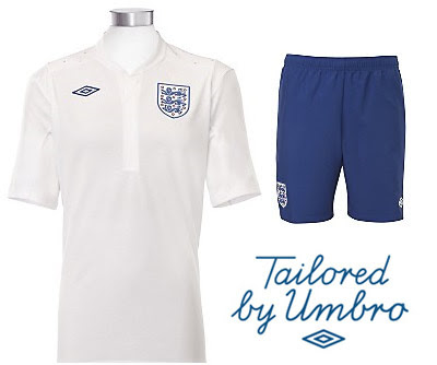 England Home Shirt 2010