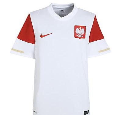 Poland Home Shirt 2010/12