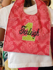 Personalized Birthday Bibs