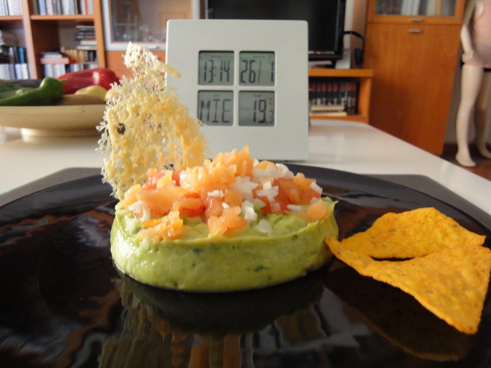 Clases de cocina zaragoza guacamole con salm n - Cursos de cocina zaragoza ...