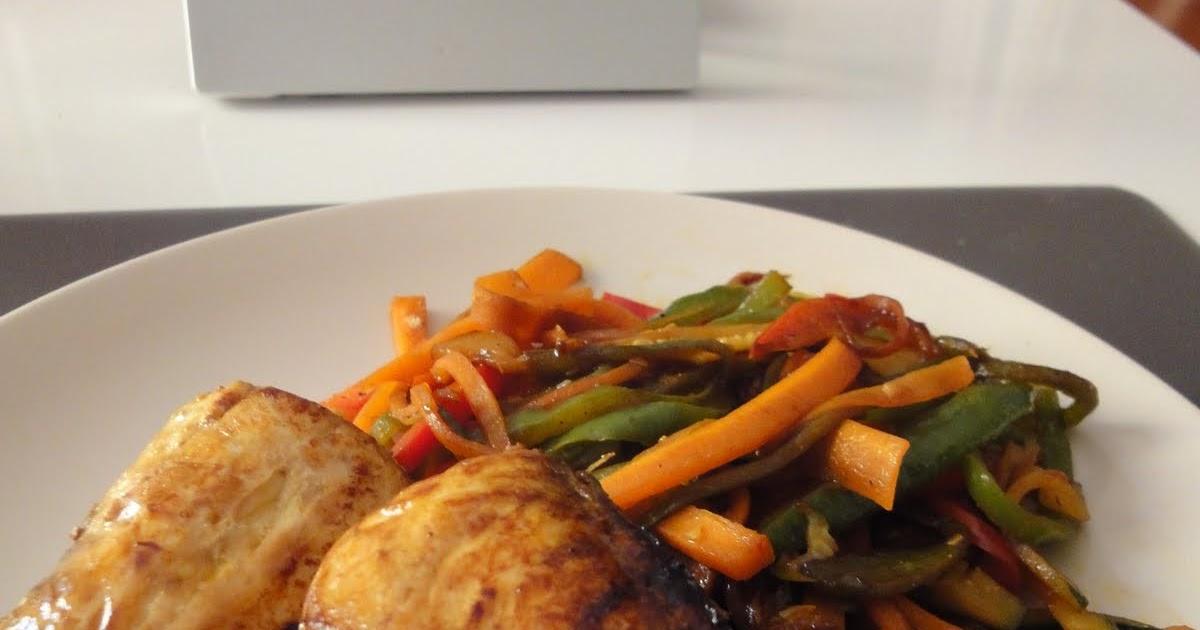 Clases de cocina zaragoza bonito con verduras cocinado en wok - Cursos de cocina zaragoza ...