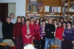 Împreună cu slujitorii cărtii-Gala cititorului statornic, Arad, 15 Decembrie 2008