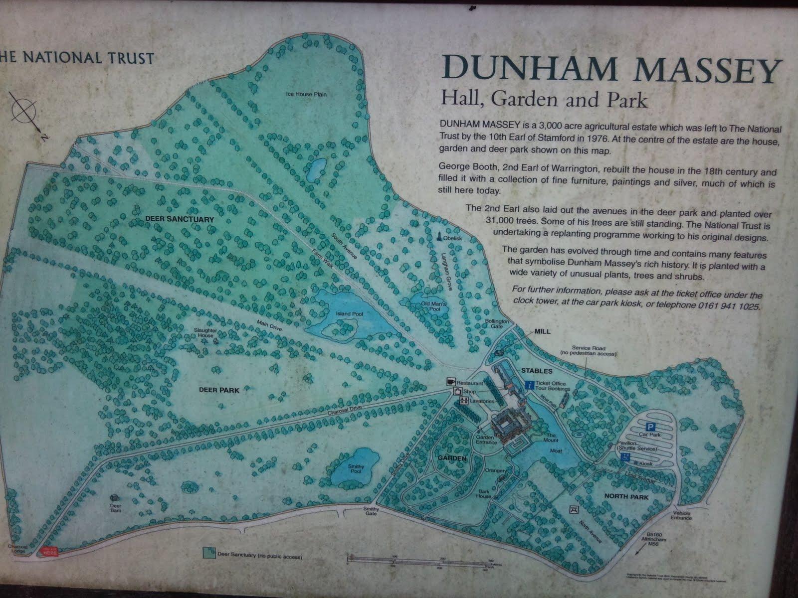 Dunham Massey Dog Walks