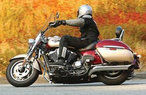 Autorider  Motorcycle Rider 2009 Kawasaki Vulcan Nomad 1700