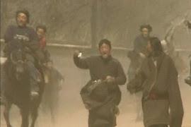 Tibetanen in opstand in Gansu