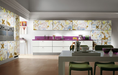 Modern Italian Art Kitchen Design by Scavolini