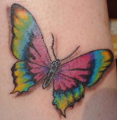 tattoo de borboletas. tattoo de orboletas. a