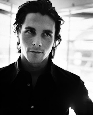 Christian Bale Favorite place to have a drink? home with friends