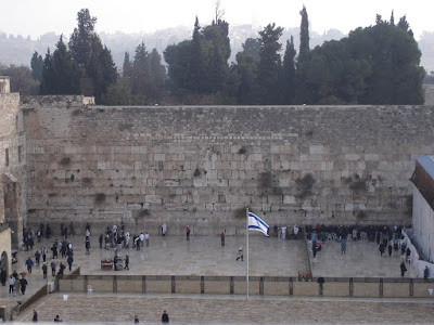 Space inequity at the Western Wall