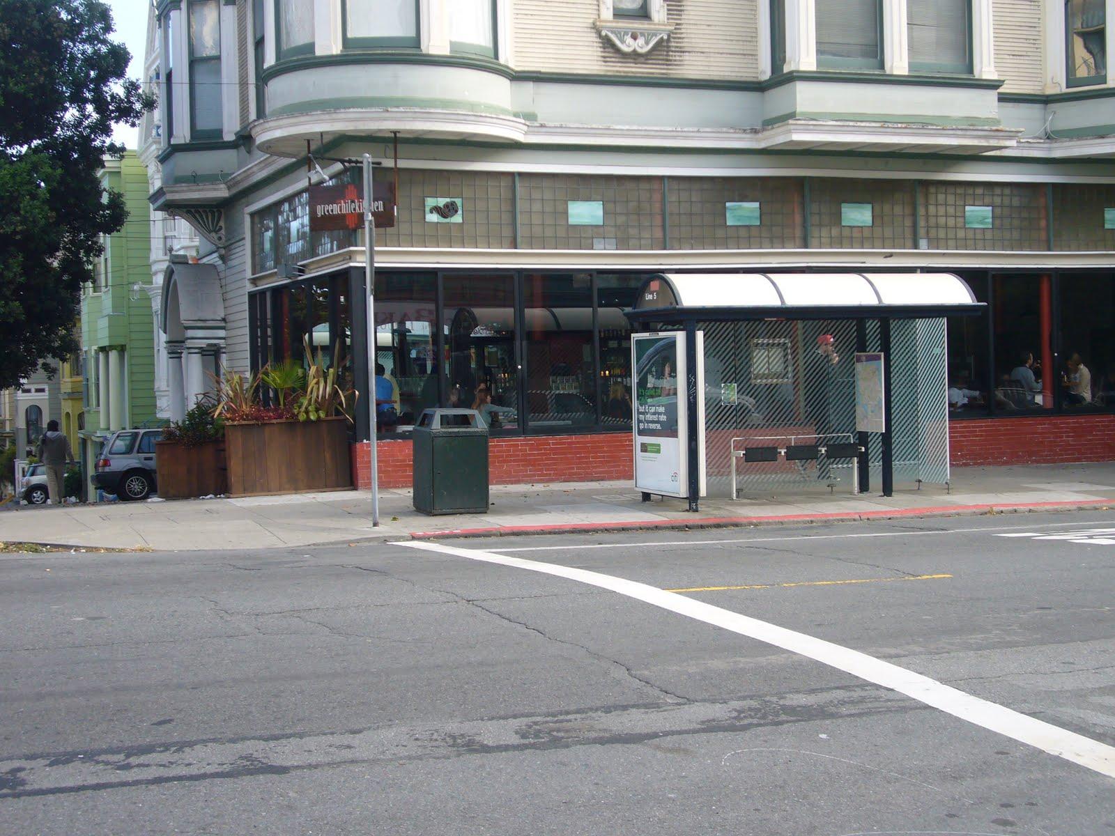 Walking San Francisco Green Chile Kitchen