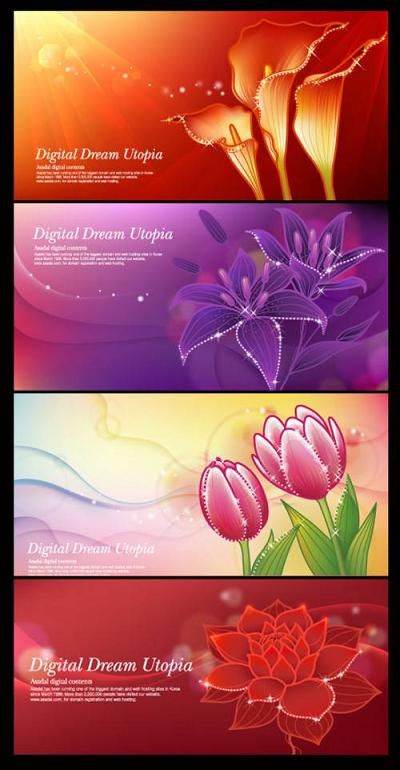 Free Background Wallpaper on Free Download Vector Flower Graphic And Wallpaper 2010