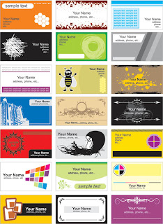Vector Corporate V.Cards Vector Corporate Cards