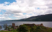 Loch Ness on my trip to Scotland 2005. Picture taken by my sister.