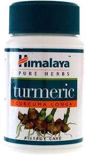 Pure turmeric capsules