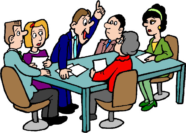 Group Meeting Clip Art