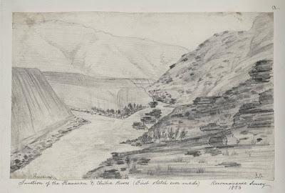 Cromwell Junction 1856, by John Buchanan
