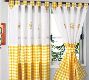Rien cortinas de cocina for Cortinas para cocina rustica
