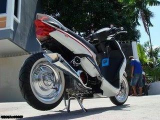 Aksesoris Motor Matic on Knalpot Custom Untuk Matic Mio  Vario  Spin  Sky Wave