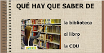 QU ES UNA BIBLIOTECA?