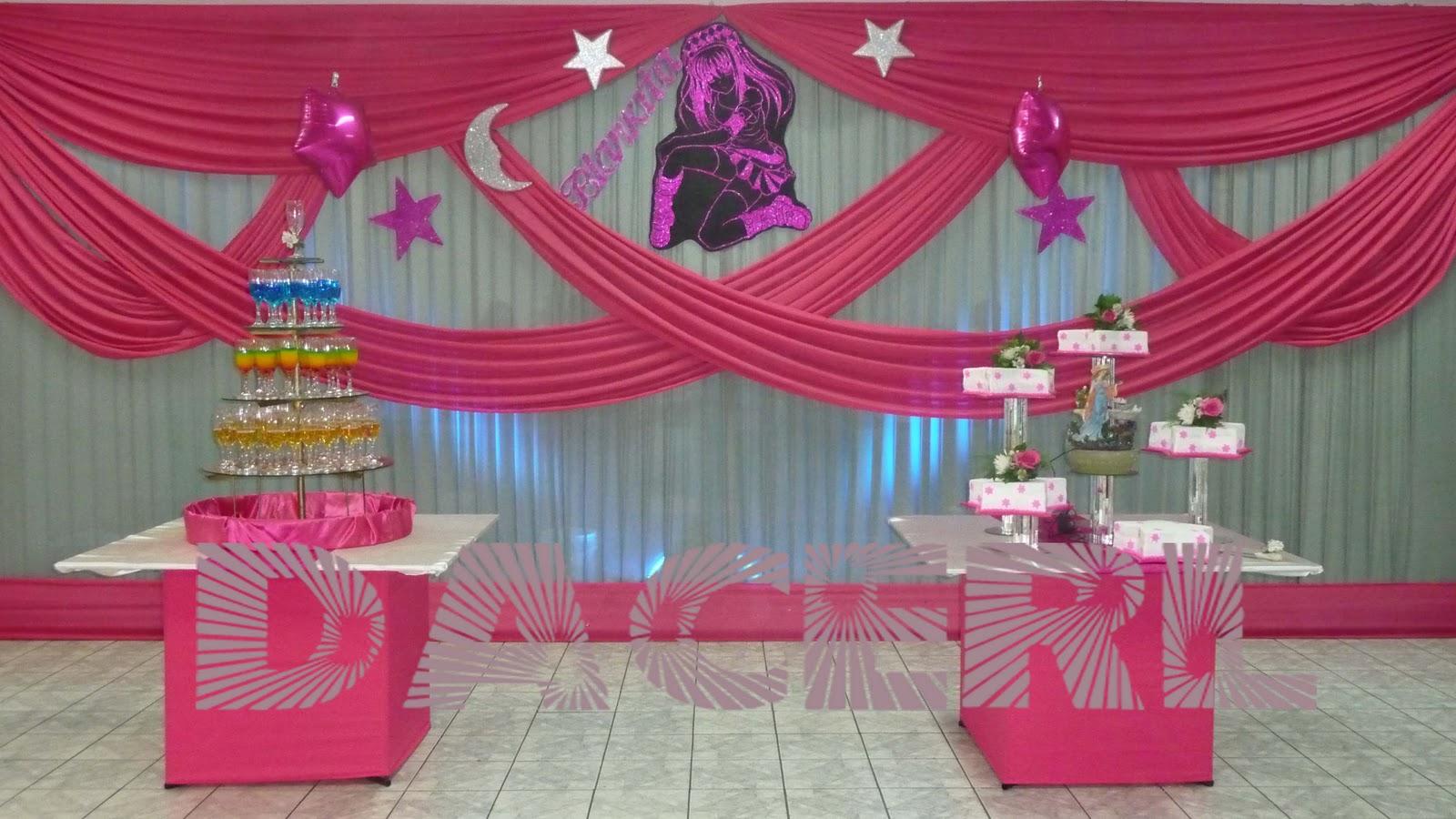 Dacerl buffets y catering abanicos y mesa de honor for Decoracion con abanicos