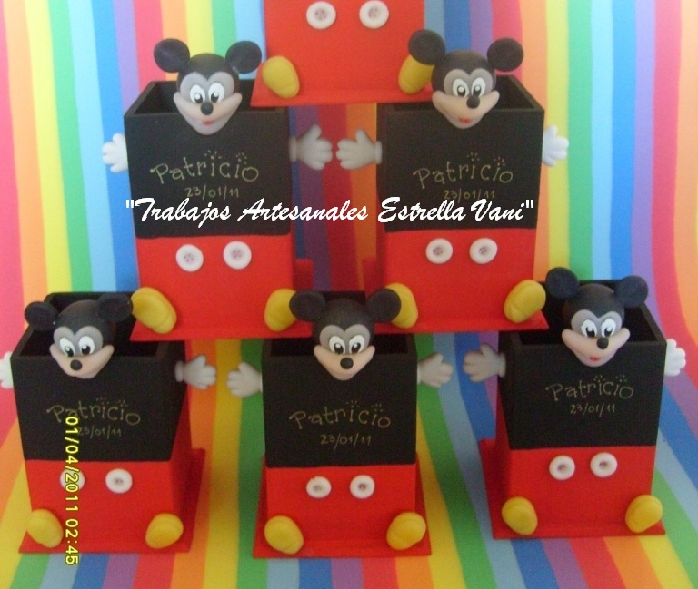 Lapiceros Mickey Mouse