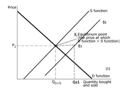 what is the difference between supply and quantity supply