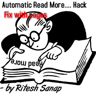 Automatic Read More Hack with fixed pages
