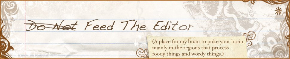 Do Not Feed the Editor