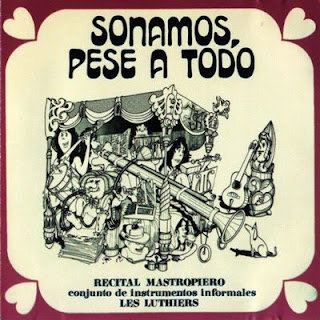 Cover Album of LES LUTHIERS-SONAMOS, PESE A TODO, LP, 1971, ARGENTINA