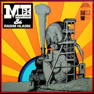 Cover Album of MODRY EFEKT & RADIM HLADIK-S/T, LP, 1974, CZECHOSLOVAKIA, NWW LIST