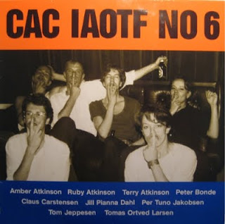 Cover Album of CAC (CYKLON ANTICYKLON)-IAOTF NO 6, LP, 1986, DENMARK