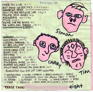WET TAXIS-TAXIDERMY, TAPE, 1980, AUSTRALIA