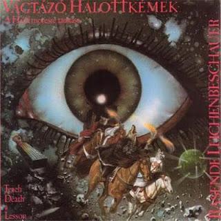 VAGTAZO HALOTTKEMEK-A HALAL MORESRE TANITASA (TEACH DEATH A LESSON), LP, 1988, HUNGARY