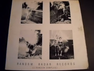 V/A-RANDOM RADAR RECORDS (A RANDOM SAMPLER), LP, 1977, USA/UK