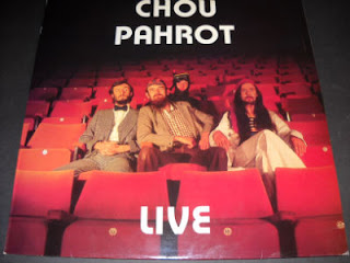 CHOU PAHROT-LIVE, LP, 1979, UK (SCOTLAND)
