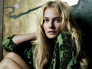 German actress and former fashion model Celebrity Diane Kruger