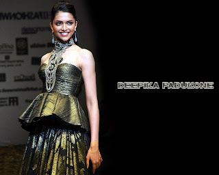 Bollywood model turned actress Deepika Padukone