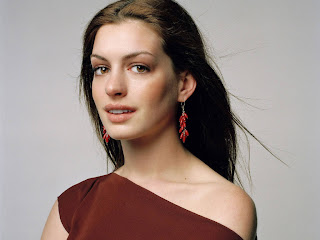 American actress Anne Hathaway