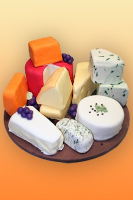 birthday cake does look like real cheese platter this kind of cake ...