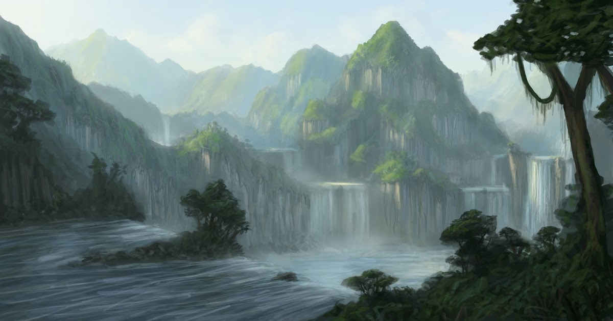 Learning concept art and matte painting 3d matte painting for 3d mural tutorial