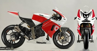 motor Bimota HB4 Moto2 superbike