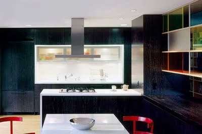 Black & White Modern Kitchen Design