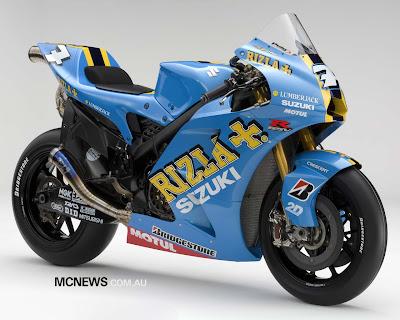 Suzuki GSV-R type MotoGP bike