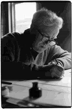 Elliott Carter, composer, photo from William Gedney Collection, Duke University Library