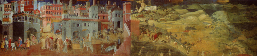 Ambrogio Lorenzetti, Fresco of Good Government