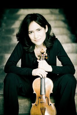 Violinist Viviane Hagner