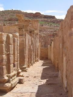 El gran templo en Petra