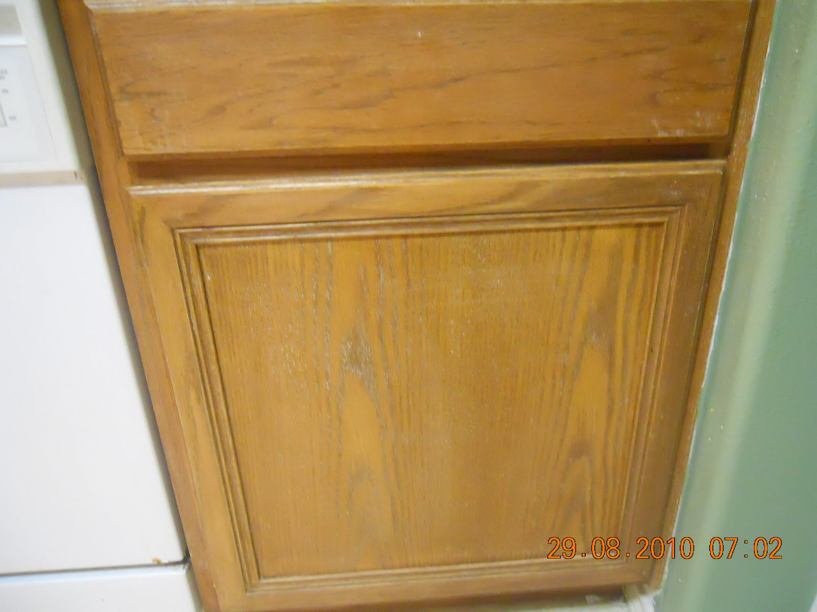 cabinets for quite some time but hadn't really thought about painting