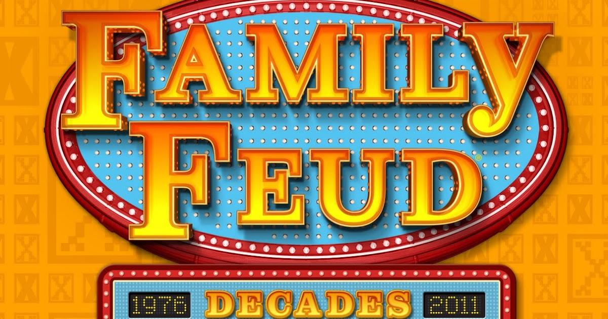 Mashbuttons Survey Says Family Feud To Come For The Wii